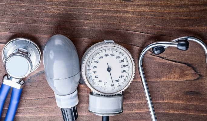 Patients with dizziness and orthostatic hypoperfusion had higher blood pressure during the test.