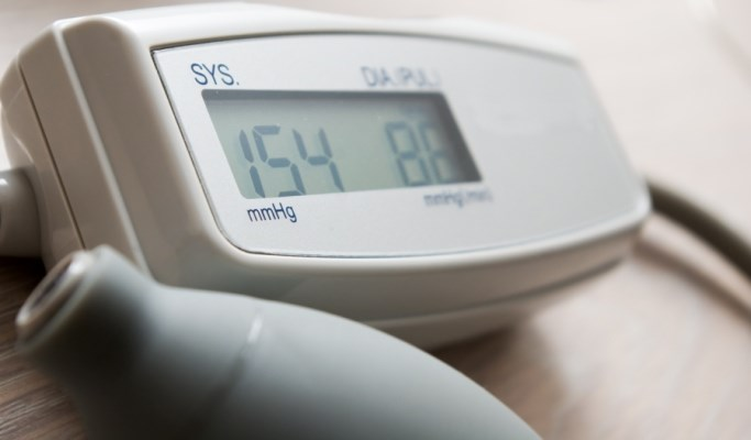 Hypertension treatment may begin when adults aged 60 years and older have a persistent SBP at or above 150 mm Hg.
