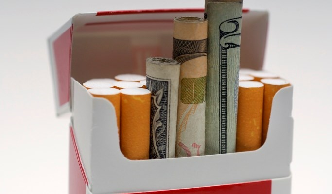Smoking-related diseases caused 12% of deaths around the world in 2012.