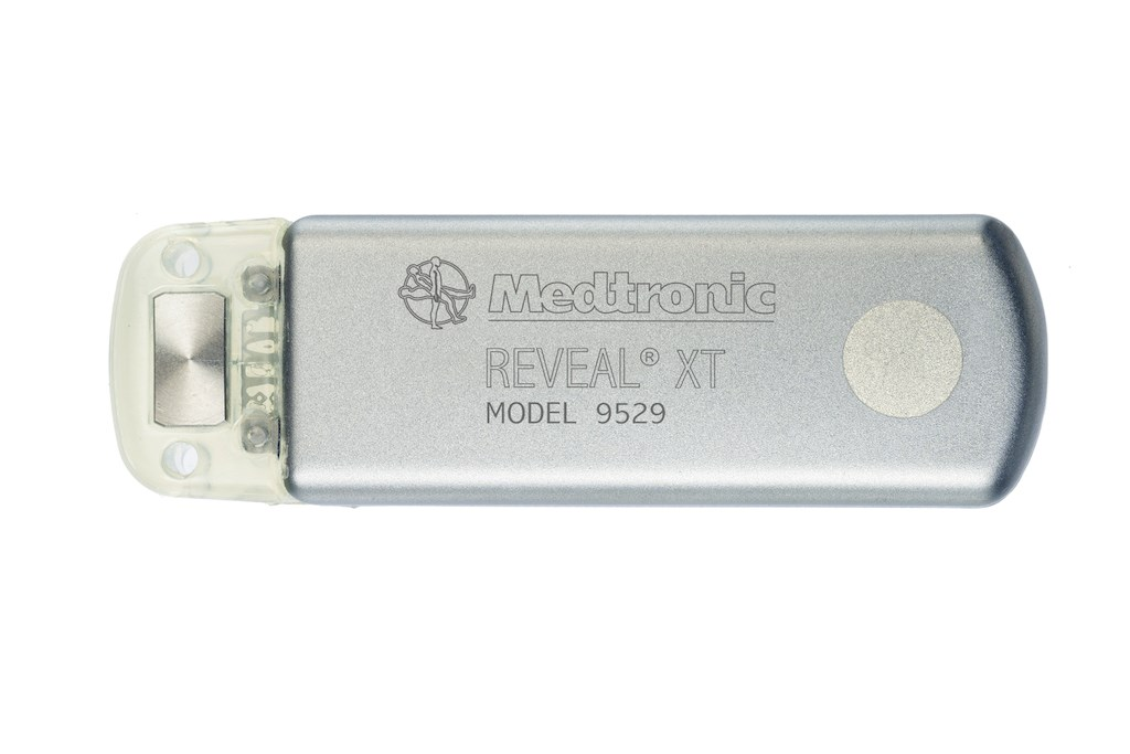 Reveal XT insertable cardiac monitor, courtesy of Medtronic, Inc.