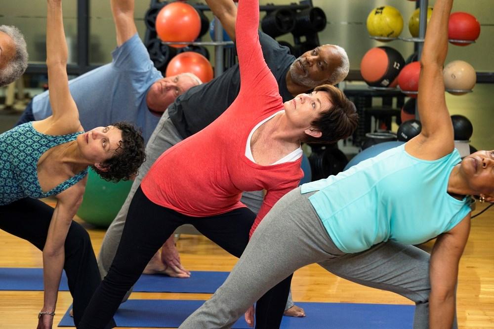 Yoga Plus Aerobics Beneficial in Coronary Heart Disease