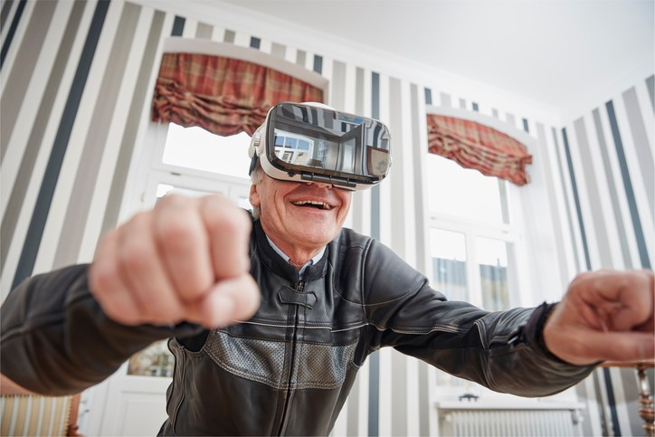 Post-Stroke Rehab Benefits From Virtual Reality