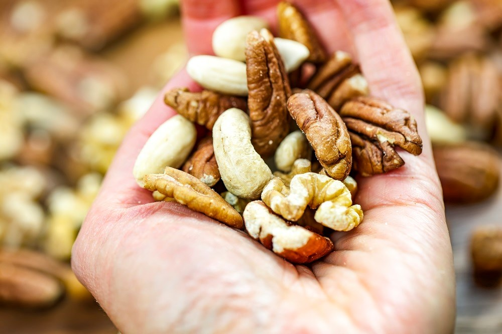 The researchers found that after adjustment for cardiovascular risk factors, total nut consumption was inversely associated with total cardiovascular disease and CHD.