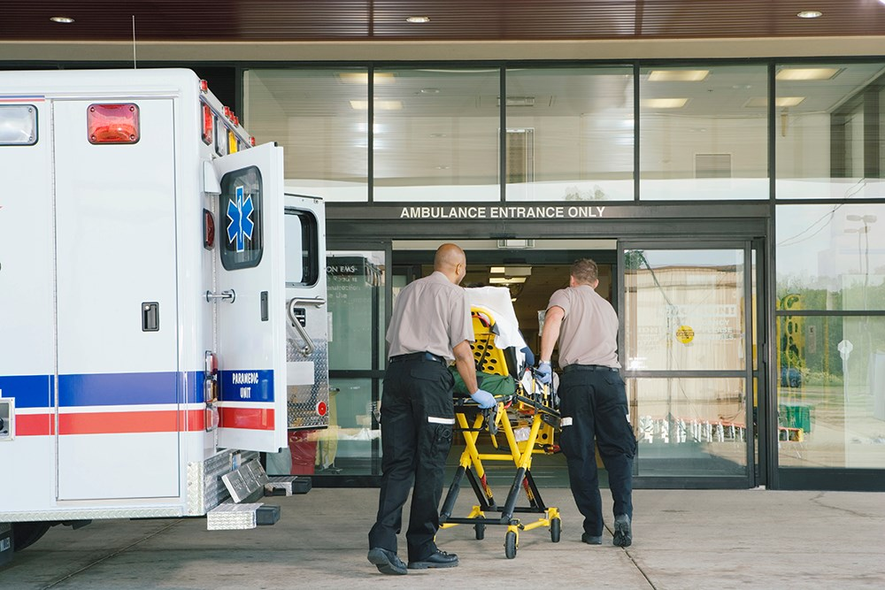 Speed of transport is a major concern for patients with STEMI using emergency medical services.