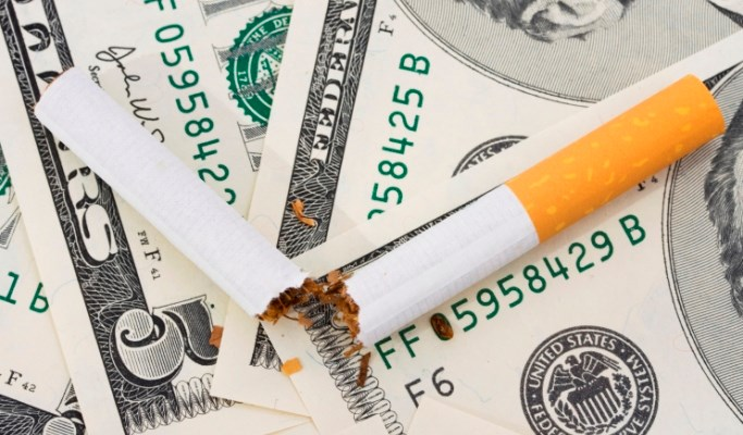 If all countries raise excise taxes on tobacco products, smoking rates may decline by up to 9%.