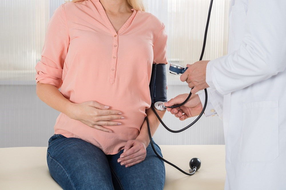 Chronic hypertension is a complication in roughly 3% of pregnancies.