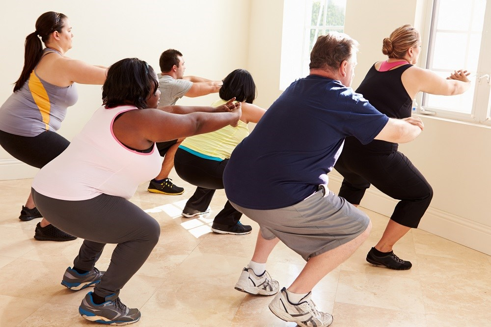 The highest rates of heart failure were seen in individuals with poor physical activity.