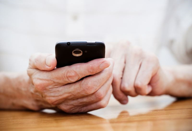 Regular smartphone communication had a positive impact on cardiovascular risk factors in patients with type 2 diabetes.