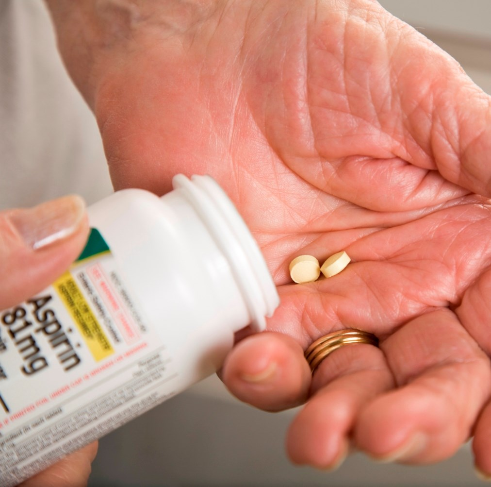 Aspirin Reduces CV Event Risk in Individuals Without Cardiovascular Disease