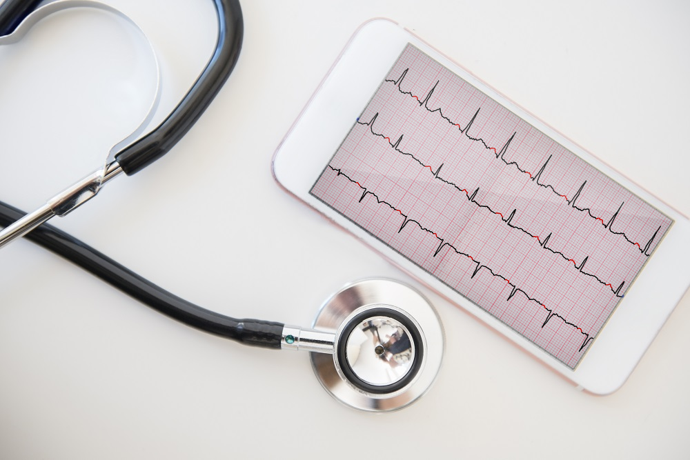 Rhythm strips were able to identify patients with AF who were contraindicated for anticoagulation therapy.