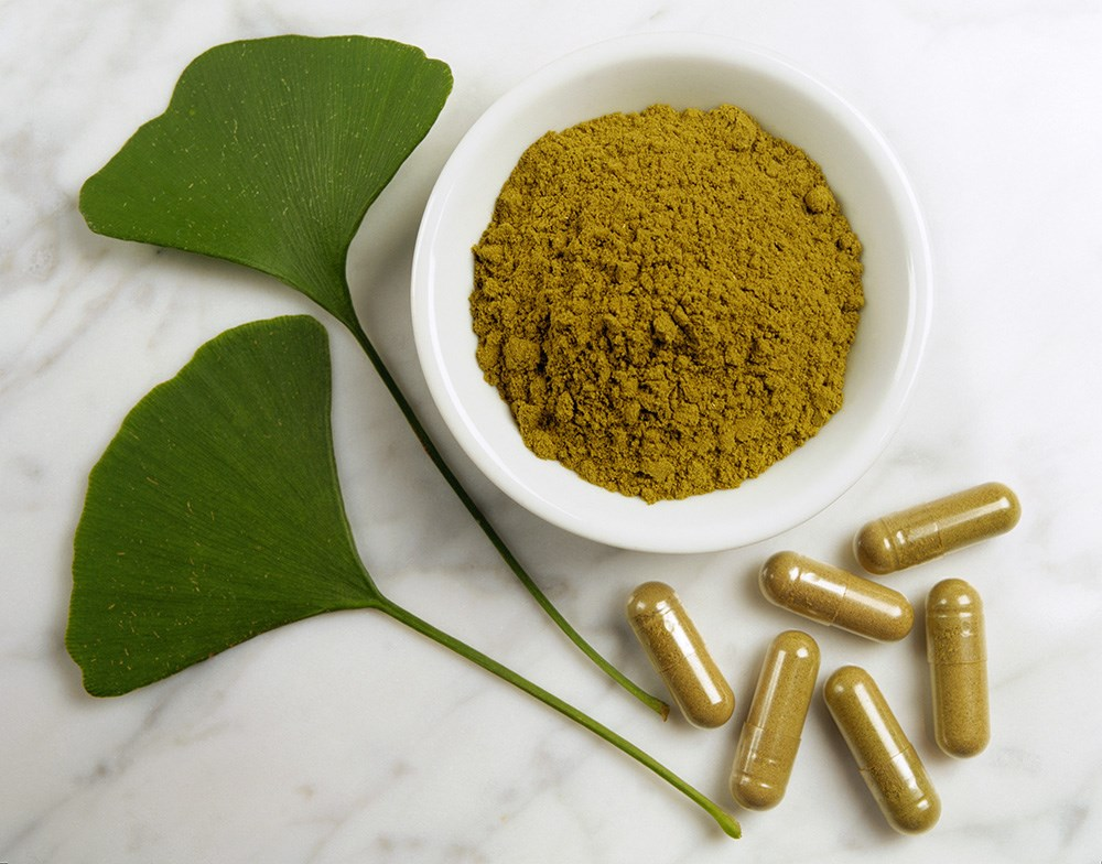 Ginkgo biloba also significantly improved the National Institutes of Health Stroke Scale score.