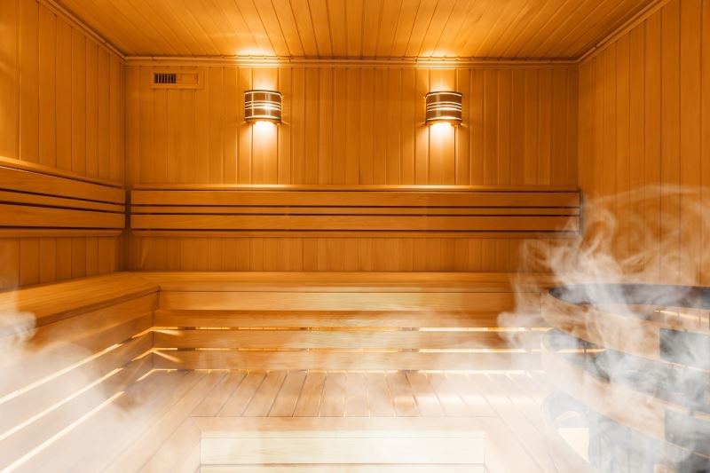 Sauna bathing has beneficial effects on arterial stiffness, blood pressure, and some blood-based biomarkers.