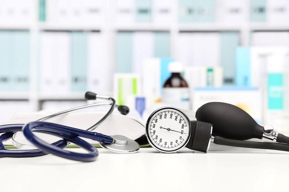 There was a greater change in the final blood pressure measurement the higher the initial systolic blood pressure.