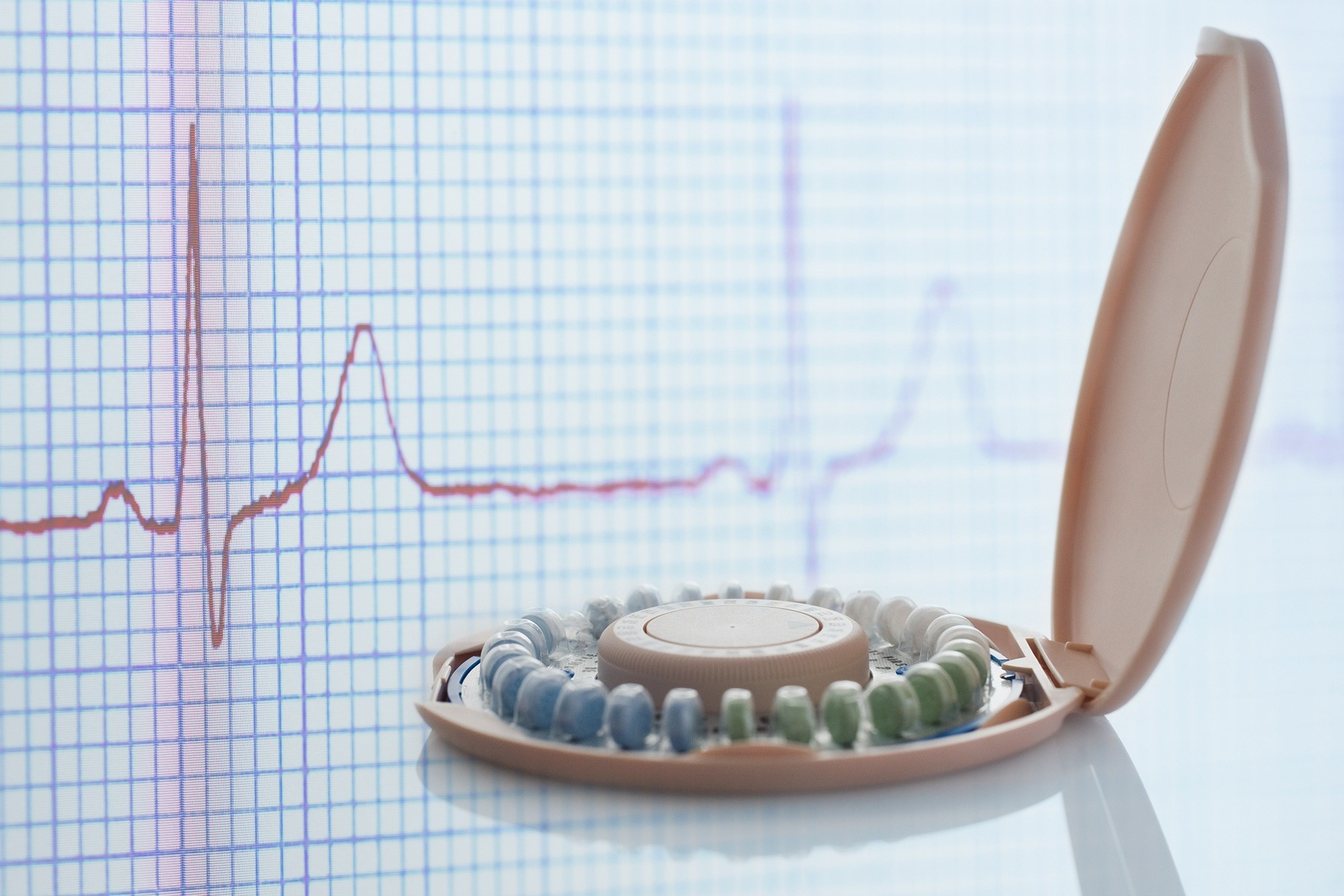 Oral Contraceptives Associated With Ventricular Repolarization Alterations