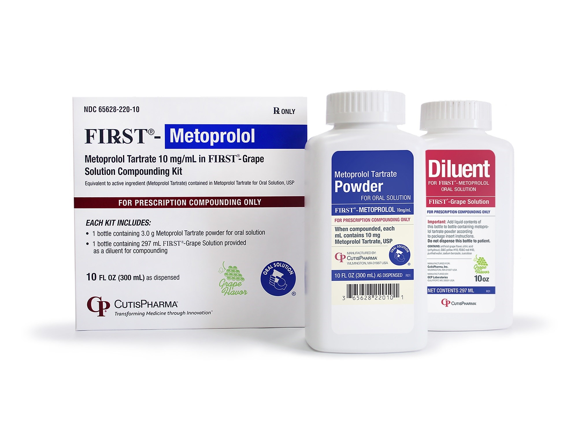 When compounded by the pharmacist, each mL contains 10mg of metoprolol tartrate.